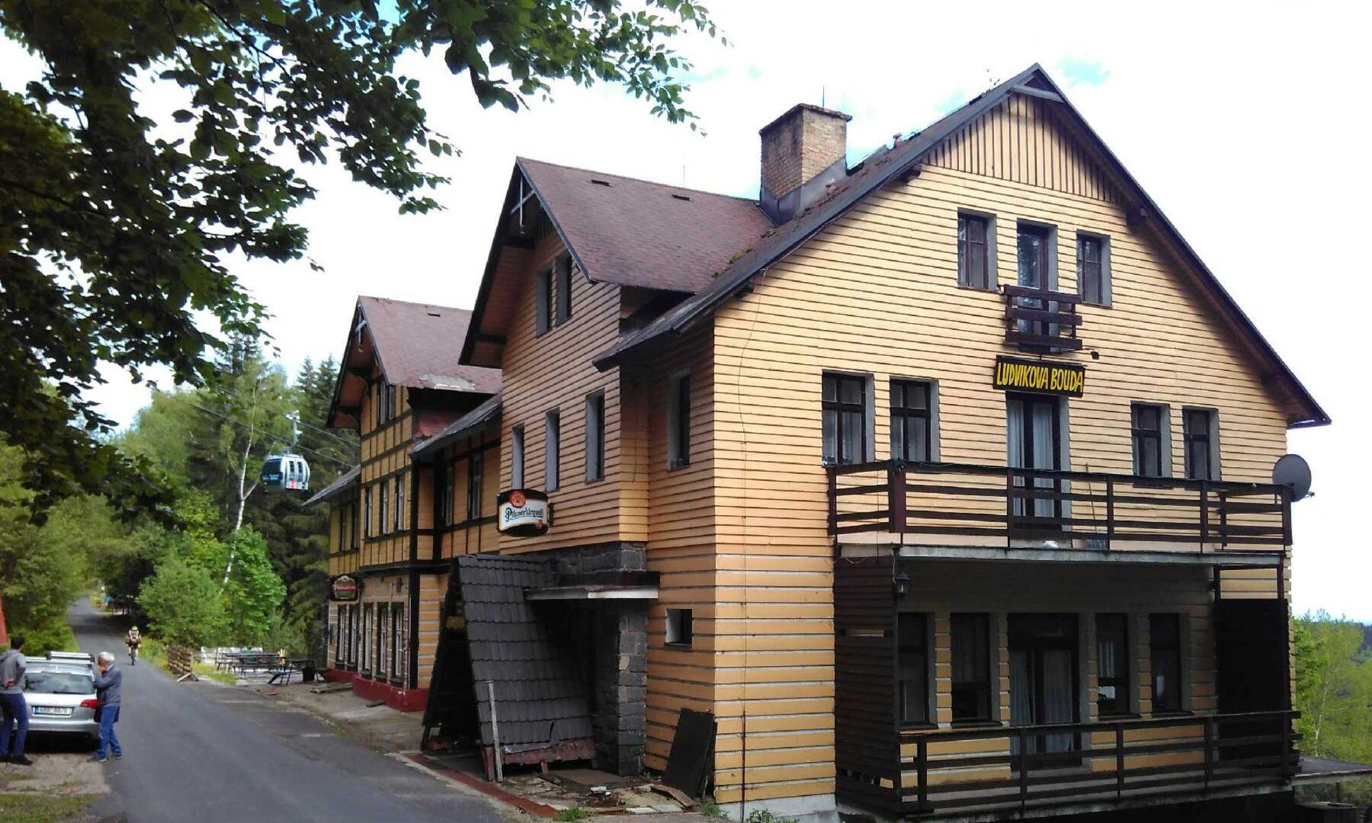 Ludvíkova chata - ubytování